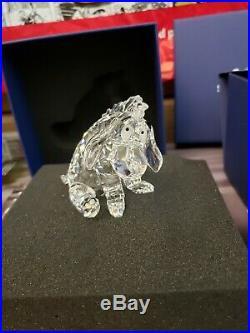 Swarovski Disney Eeyore (Pooh's Friend) Crystal Figurine # 905770 Retired
