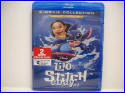 Swarovski Disney Le Stitch Experiment 626 + Lilo & Stitch 2 Movie Collection