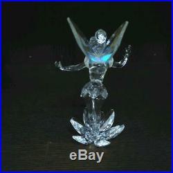 Swarovski Disney Limited Edition 2008 Tinkerbell Retired Crystal Figurine F/s