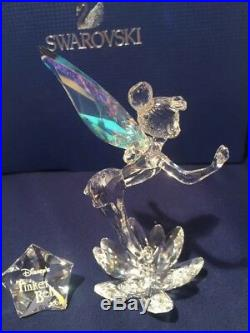Swarovski Disney Limited Edition 2008 Tinkerbell (retired Crystal Figurine)