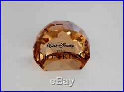 Swarovski Disney Lion King Complete 6 Piece Set With Original Boxes