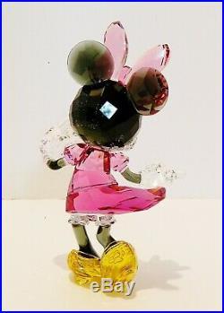 Swarovski / Disney Mickey Mouse Celebration & Minnie, #5376416 / 5135891 Nib