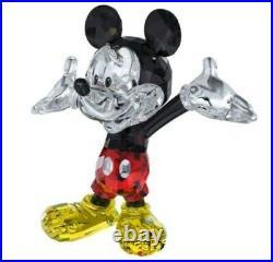 Swarovski Disney Mickey Mouse & Minnie Mouse 2 Piece Set 5268838 5268837 Bnib
