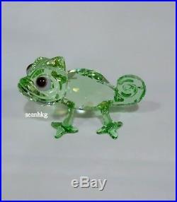Swarovski Disney Pascal, Disney Green Crystal Authentic MIB 5301565