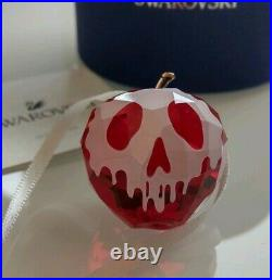 Swarovski Disney Set 2019 Ltd. Ed Snow White Grumpy And Dopey & Apple New In Box