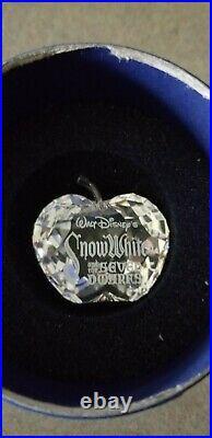 Swarovski Disney Snow White & the Seven Dwarfs Complete withplaque & Lithograph