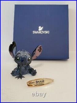 Swarovski Disney Stitch Figurine 2012 Limited Edition 1096800 Retired