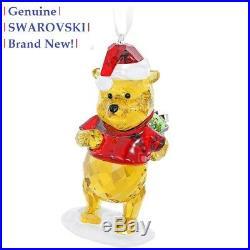 Swarovski Disney WINNIE THE POOH Christmas Tree Ornament 5030561 New in Gift Box