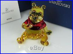 Swarovski Disney Winnie the Pooh Retired 2012 MIB #1142889