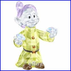 Swarovski Dopey, Disney Snow White, Seven Dwarfs Crystal Authentic MIB 5428558