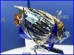 Swarovski Emperor Angelfish, Jonquil MIB #1072590