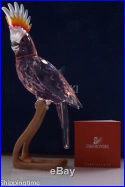 Swarovski Figurine Crystal Paradise Birds Large Cockatoo 718565