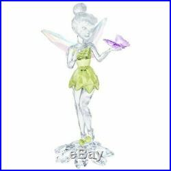 Swarovski Figurine Disney Fairies TINKER BELL WITH BUTTERFLY -5282930 New