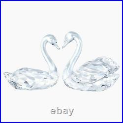 Swarovski Figurine Swan Couple Clear Crystal 5384056