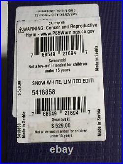 Swarovski Figurines Disney Snow White Limited Edition 2019 Model #5418858