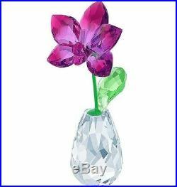 Swarovski Flower Dreams Orchid Nib #5254318