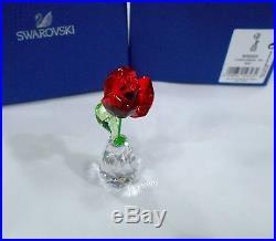 Swarovski Flower Dreams Red Rose, Crystal Authentic MIB 5254323