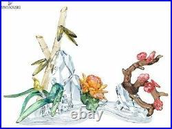 Swarovski Four Noble Plants Mib #5283057
