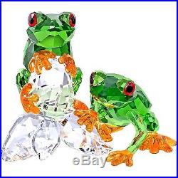 Swarovski Frogs # 5136807 New in Original Box