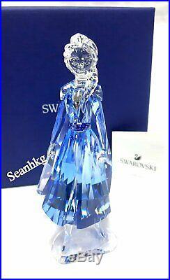 Swarovski Frozen 2 Elsa, Blue & Lt. Purple Crystal Authentic MIB 5492735