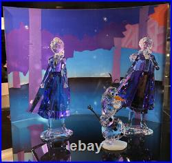 Swarovski Frozen Disney Crystal Display retired
