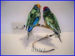 Swarovski Gouldian Finches 1141675 Bnib