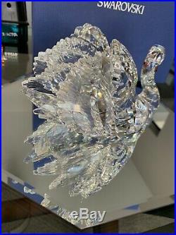 Swarovski Graceful Swan Large Clear Crystal Red Beak #1141713