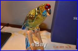 Swarovski Green Rosella Jonquil (Birds of Paradise) NEW
