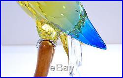 Swarovski Green Rosella Jonquil Mega Bird Paradise Sign 901601 Brand New in Box