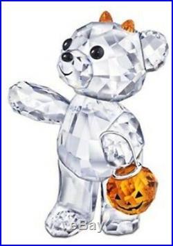 Swarovski Halloween Kris Bear & Kris Bear A Pumpkin For You 1096026 15223252 Nib