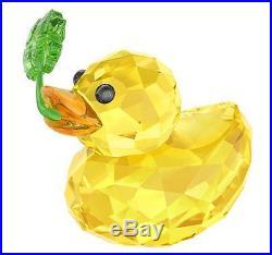 Swarovski Happy Duck Good Luck, 4-LEAF CLOVER Crystal Authentic MIB 5136427