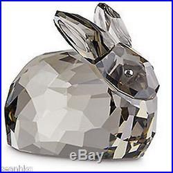 Swarovski Hare Rabbit Satin Crystal Lt. Ed. Wild Animals Figurine MIB 1089977