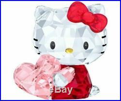 Swarovski Hello Kitty Pink Heart Nib #5135886
