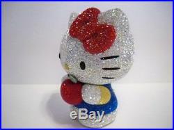 Swarovski Hello Kitty Red Apple Le 2013 Crystal Myriad Retired 5004530 Bnib Coa