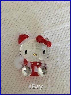Swarovski Hello Kitty Santa 1142935 Retired Bnib