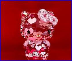 Swarovski Hello Kitty hearts limited edition 2012 MIB