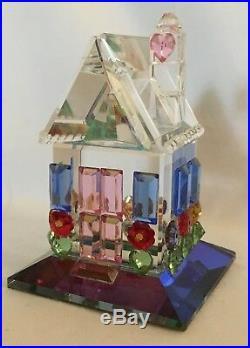 Swarovski Iris Arc RARE Crystal Figurine Colorful Cottage