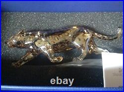 Swarovski Jaguar 1096796 Crystal Figurine New In Box