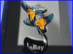 Swarovski Kingfishers Turquoise Paradise Bird Couple #5136835 Nib