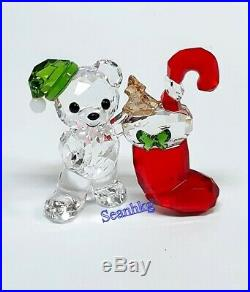 Swarovski Kris Bear Christmas -2020, Multi Color Crystal Authentic 5506812