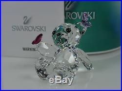 Swarovski Kris Bear, Playful Butterflies Mib #1143450