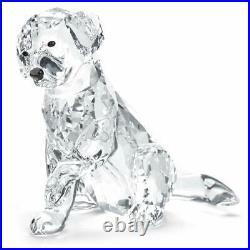 Swarovski Labrador Mother Crystal Figurine 5399004