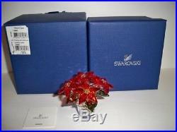 Swarovski Large Poinsettia 1139997 Bnib