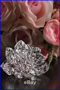 Swarovski Light Pink Crystal Flower Figurine DAHLIA #5129463 New