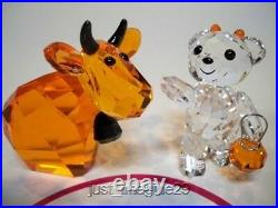 Swarovski Lovlots Halloween Mo & Halloween Kris Bear Retired Limited. Ed. Bnib