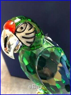 Swarovski MACAW CHROME GREEN Paradise Bird with Box 0685824