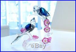 Swarovski Magpies on Plum Blossom Birds Wedding Gift 5371643 Brand New In Box