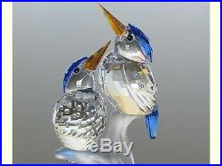 Swarovski Malachite Kingfisher Birds Brand Nib #6233323 Love Crystal Save$ Rare