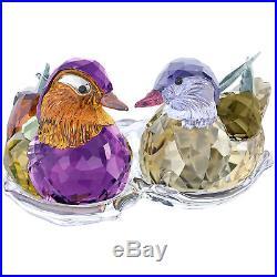 Swarovski Mandarin Ducks # 5265586 New in Original Box