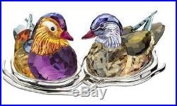 Swarovski Mandarin Ducks Crystal NEW # 1141631